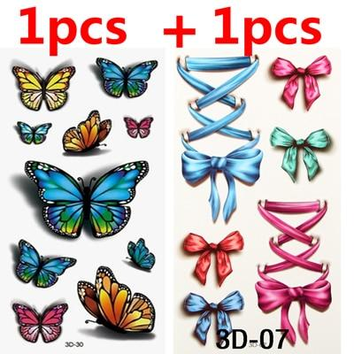 Image of The Best Temporary Tattoos, 3D! Guaranteed To Last! Save 15% On Two Sets!-Temporary Tattoos-Modern Lemma