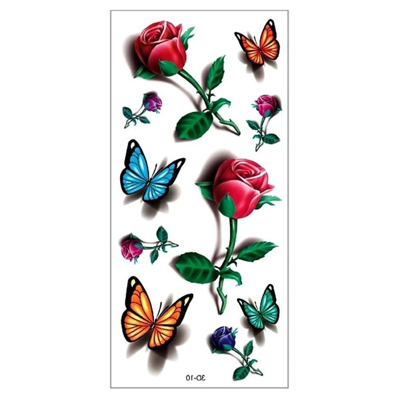 The Best Temporary Tattoos, 3D! Guaranteed To Last! Save 15% On Two Sets!-Temporary Tattoos-Modern Lemma