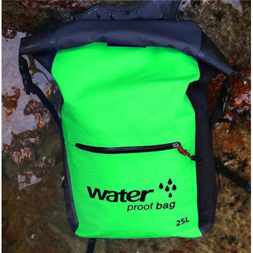 Waterproof Backpack, Perfect For Paddle Boarding, Kayaking Etc.-Swimming Bags-Modern Lemma