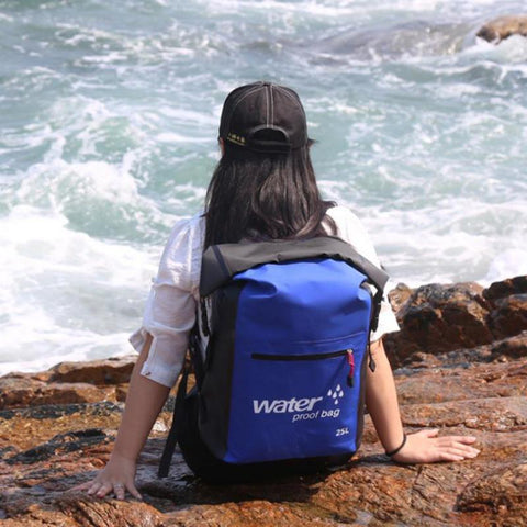 Image of Waterproof Backpack, Perfect For Paddle Boarding, Kayaking Etc.-Swimming Bags-Modern Lemma