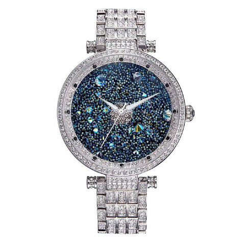 Luxury Sapphire Crystals Stainless Steel Luxury Watch - Vera Nova Jewelry