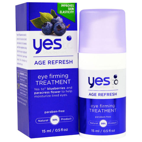 YES TO BLUEBERRIES: Age Refresh Eye Firming Treatment