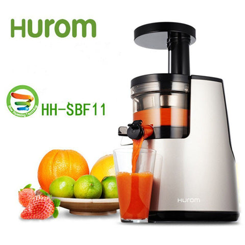 2nd Generation 100% Original HUROM Elite HH-SBF11 Slow Juicer Fruit Vegetable Citrus Low Speed Juice Extractor Made in Korea