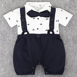 2017 Baby Rompers Summer Baby Girls Clothing Sets Roupa Bebes Newborn Baby Jumpsuits Boys Outerwear Infant Baby Boy Clothes