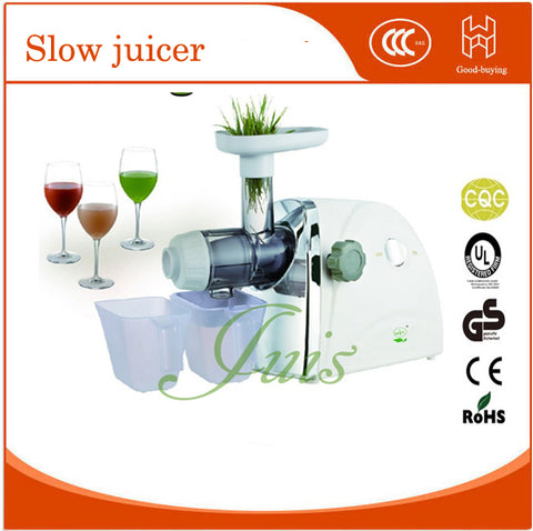 85r/min New wheatgrass juicer automatic orange apple slow juice maker