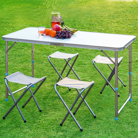 HOT Outdoor Folding Table Camping Aluminium Portable Multi-Purpose Outdoor Activity Durable Folding Table Table Desk For Picnic