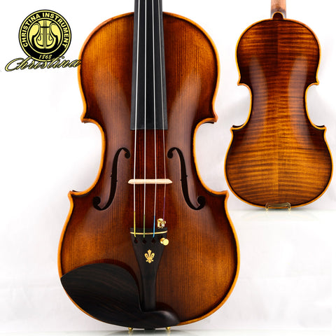 Professional Christina V05 violin, Italian handmade Antique Grading violino 4/4 musical instruments+fiddle case,bow,rosin
