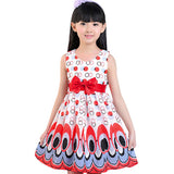 Peacock Girls dresses for party and wedding children clothes kids dresses Prom Dress vestito bimba Drop ship
