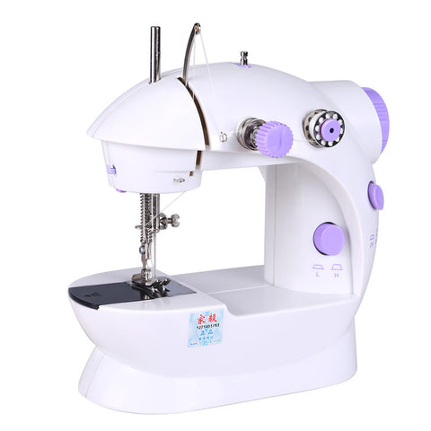 Handheld Mini Sewing Machines Dual Speed Double Thread Multifunction