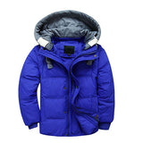 Actionclub Hooded Winter Outwear For Kids Baby Boys Girls Winter Short Colorful Jacket Clothing Children Thick Cotton Coat