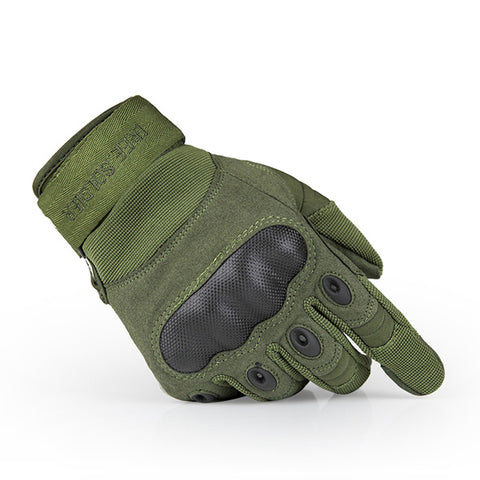 FREE SOLDIER Outdoor Sports Tactical Gloves, Climbing Gloves Men's Full Gloves For Hiking Cycling Training