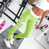 2017 Plus Size Casual PushUp Fitness Sporting Leggins Gothic Print High Waist Elastic Women Sportwear Workout Leggings For Women