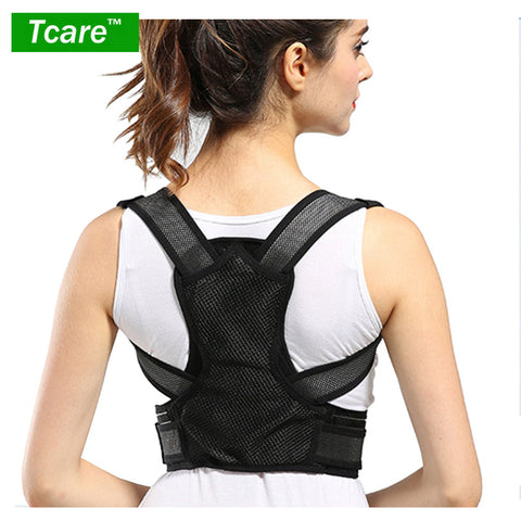 Tcare Posture Corrector Clavicle Support Brace Medical Device to Improve Bad Posture, Thoracic Kyphosis, Shoulder Alignment