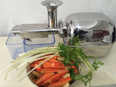 5500 type Korea original imported High-end family Cooking machine juicer  All stainless steel Juicer