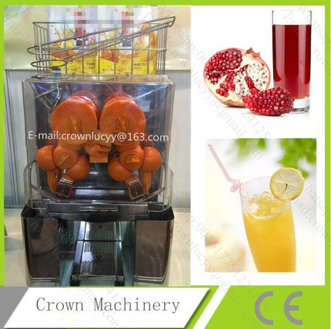 CE 250W pomegranate juice extractor machine; Orange juice machine; Juice extracting machine