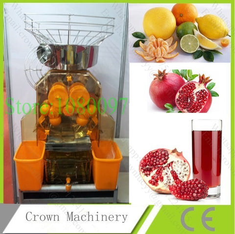 Automatic Commercial industrial Pomegranate/Orange/ Lemon juicer extracting machine;juicer presser machine