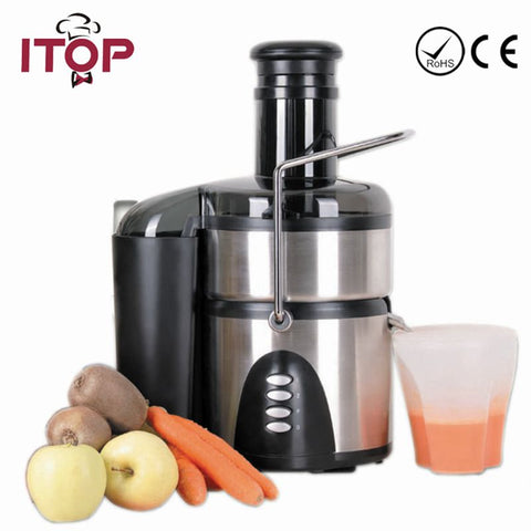 Free Shipping Slow Juicer 800W Fruits Vegetables Slowly Juice Extractor Juicers Fruit Drinking Machine 220V With Europe Plugs