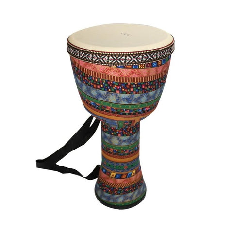 Orff world 8/10 inch Djembe Goat Skin Wooden African Drum Percussion Musical Instrument For Children Practice Rhythm Beginners