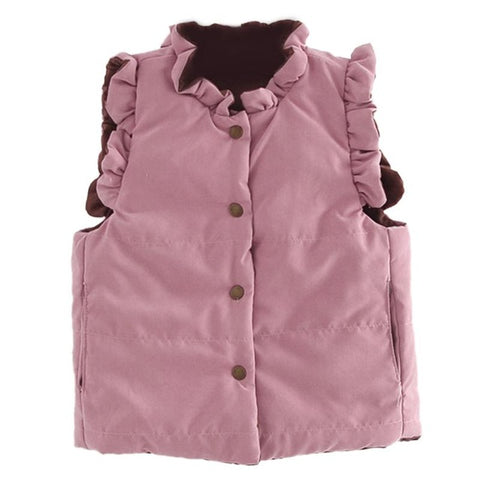 Children's Clothing winter Outerwear Coats for Girl and Boys, Cute Baby Vest Kids Warm Jacket Vest Baby Warm Waistcoat