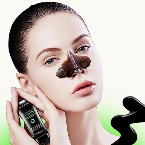 Blackhead Remover Skin Care Cream Deep Clean Purifying Bamboo charcoal Black Mud Face Mask
