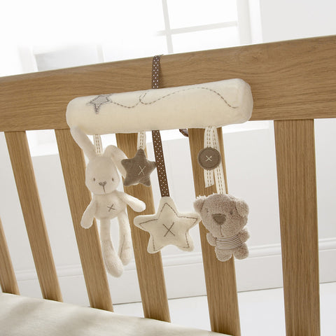 Baby Room Hanging Decorations Baby Crib Pendant Music Rattles Toys Star Bear Rabbit Mini Wind Chimes