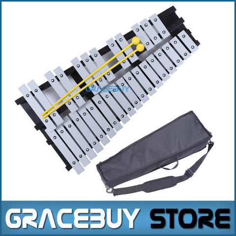30 Note Xylophone Piano Fleet Foldable Glockenspiel Vibraphone New Music Knock e Piano Percussion Instrument And Paino Bag