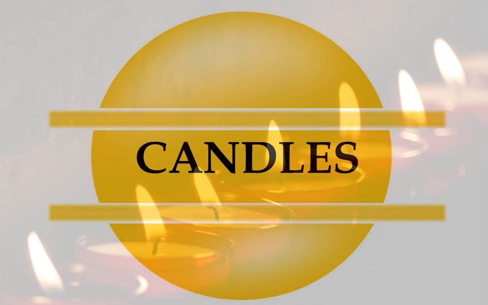 Candle - Travel tins