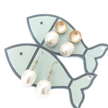 pearl lover earrings