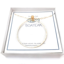 class-sea mainsail hoop necklace