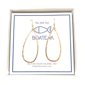 class-sea keel earrings