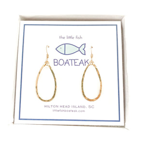 class-sea mini keel earrings