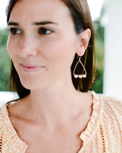 coastal glam {rice pearl} mast earrings