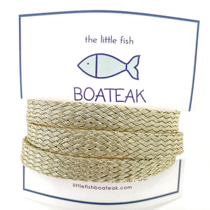 mermaid triple wrap {plain/gold weave}