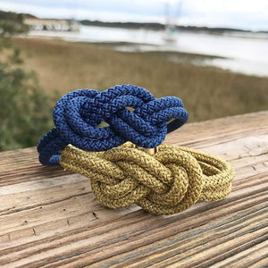 sailor's knot II statement bracelet