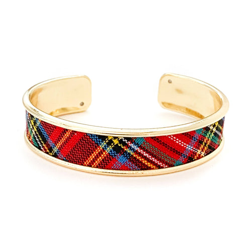 yacht hopper bangle {thick} tournament plaid
