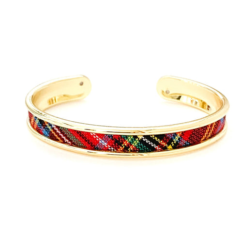 yacht hopper bangle {thin} tournament plaid