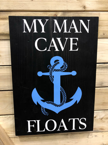 MY MAN CAVE FLOATS