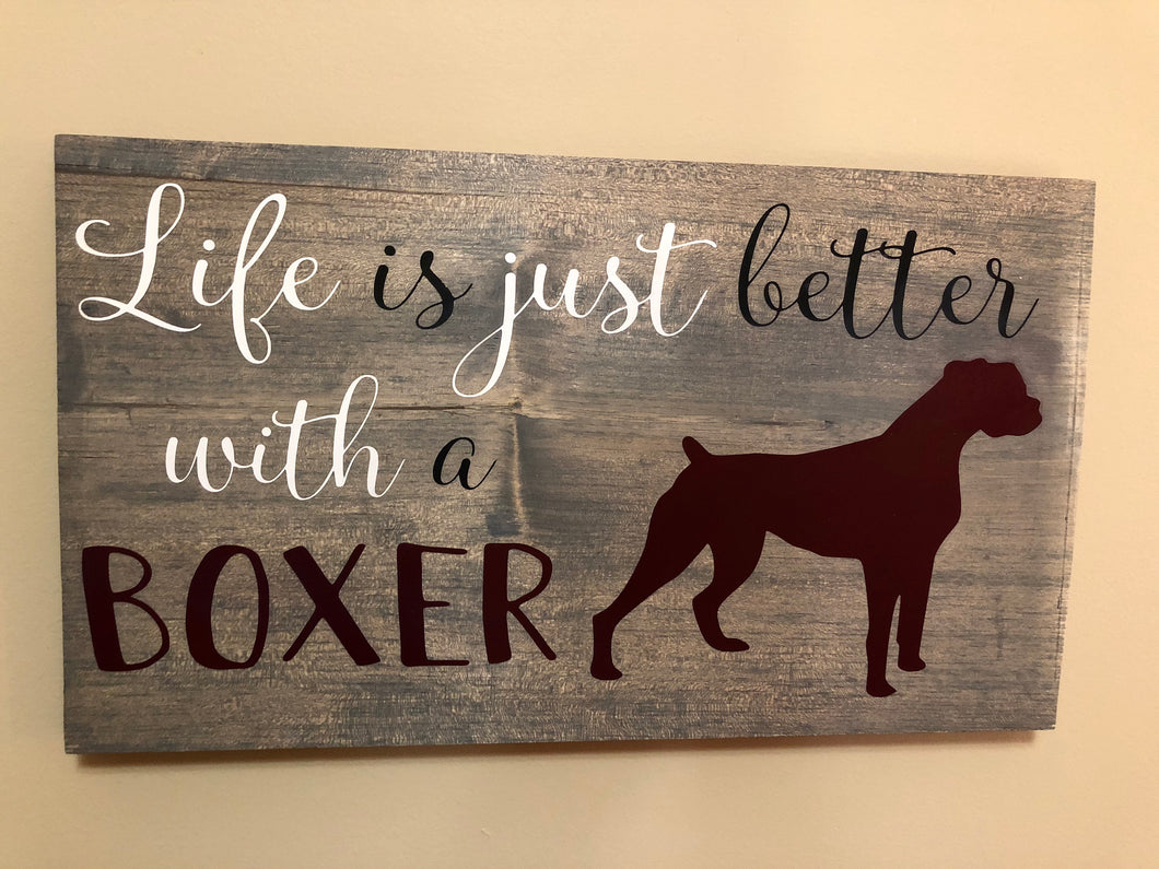 Life is just better with a boxer