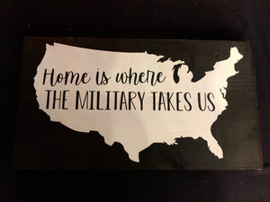 Home is Where the Military Takes Us
