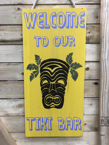 WELCOME TO OUR TIKI BAR