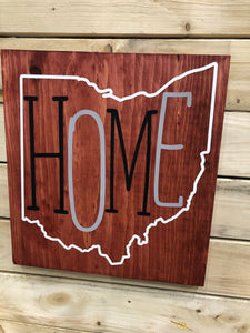 Ohio Home (Staggered Letters)