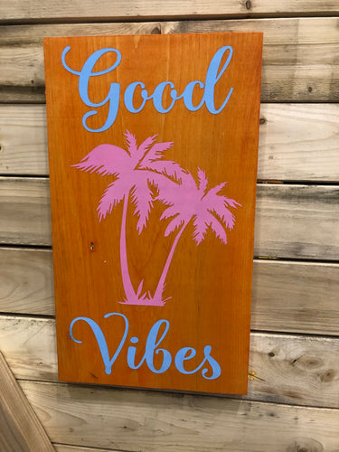 Good Vibes Palm Trees
