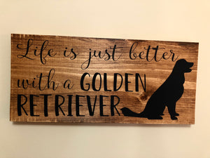 Life is just better with a golden retriever