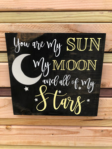 You are my sun, my moon, and all of my stars