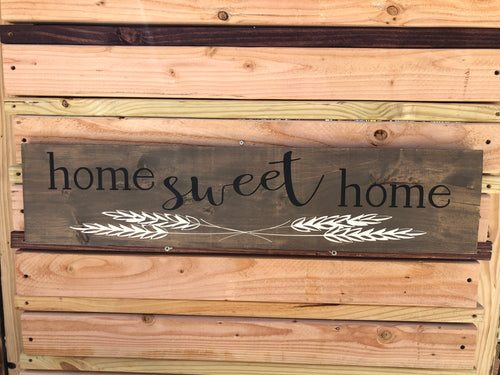 Home Sweet Home wheat
