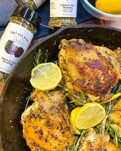 Baked Chicken - Lemon & Herb Thighs