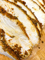 Roasted, Juicy Turkey Breast