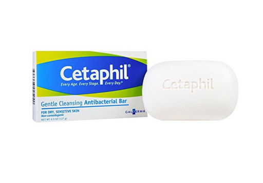 Gentle Skin Cleanser Antibacterial Bar by Cetaphil  - 4.5 oz