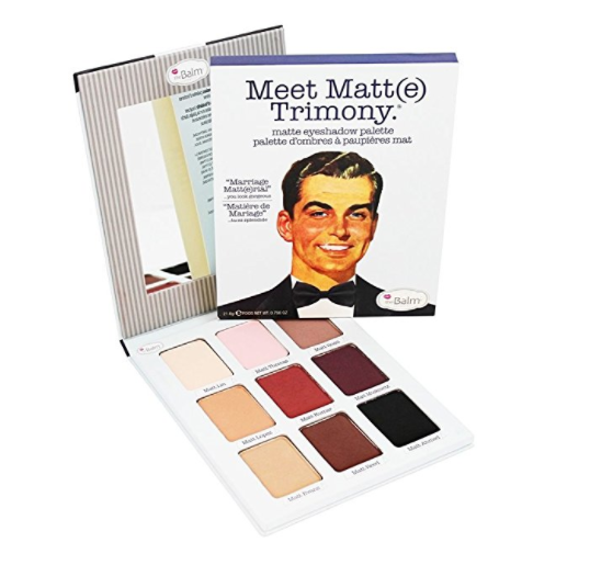 Matte Eyeshadow Palette by The Balm Cosmetics - Meet Trimony