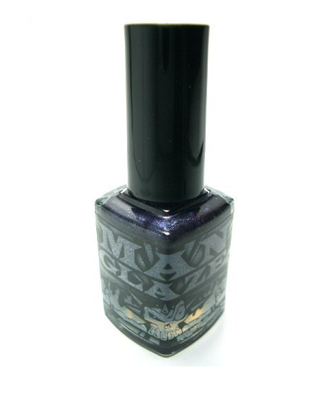 Matte Nail Polish by ManGlaze - Dark Purple Cabron